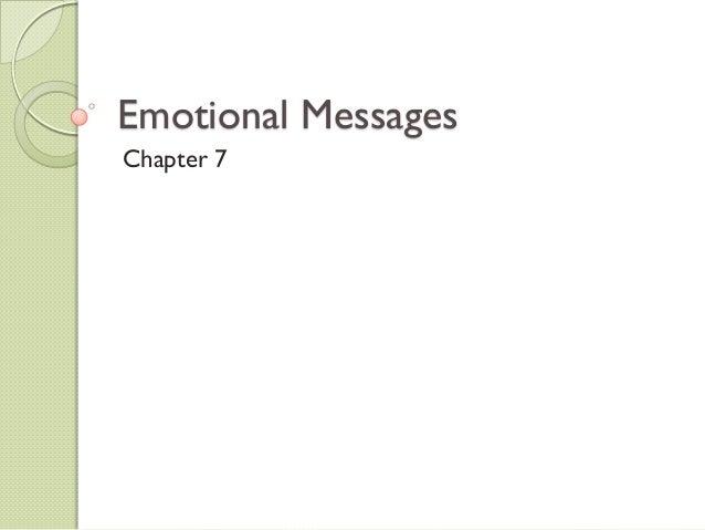 Emotional MessagesChapter 7