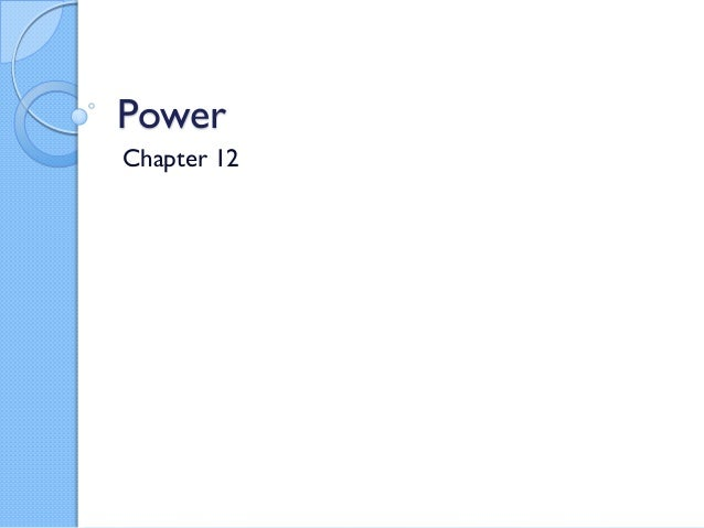 Com120 12 power part 1