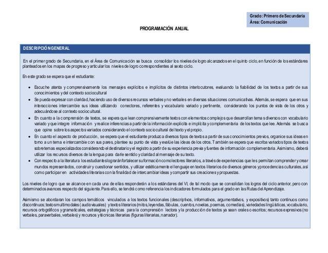 PLAN ANUAL 2015 DEL ÁREA DE COMUNICACIÓN (JEC)