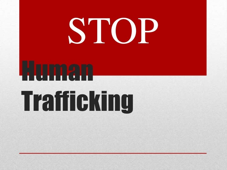 essays on human trafficking