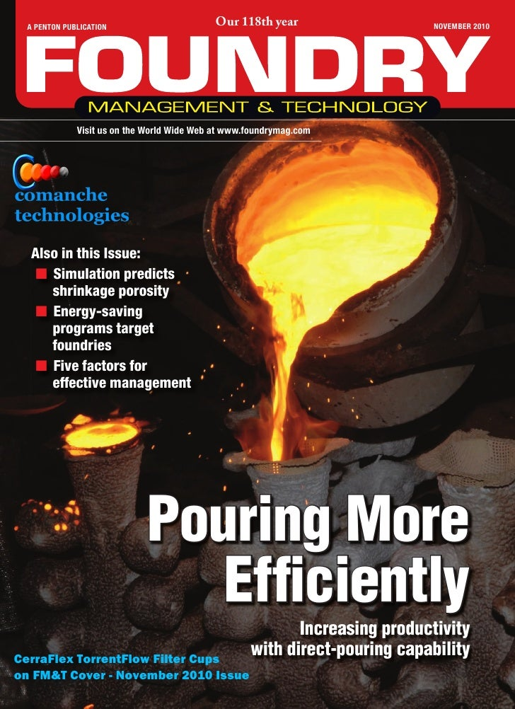 Comanche Technologies Foundry Product Articles