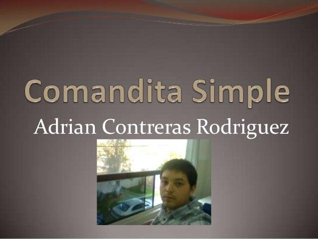 Adrian Contreras Rodriguez