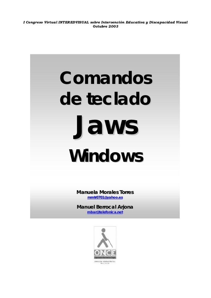 Comandos teclado jaws_mym