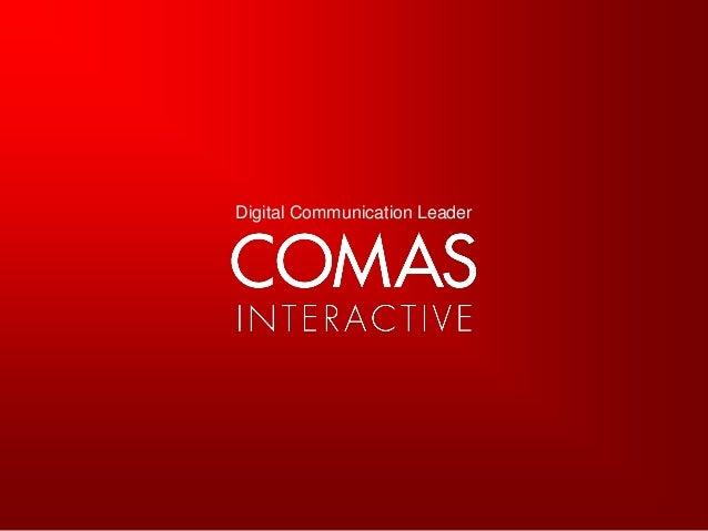 Comas 회사소개서
