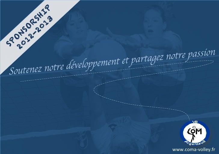 IP       SH 3      R 1    SO 20   N 2-  O 1SP 20              www.coma-‐volley.fr