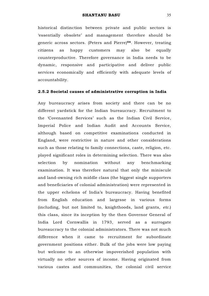 200 words essay on corruption in india