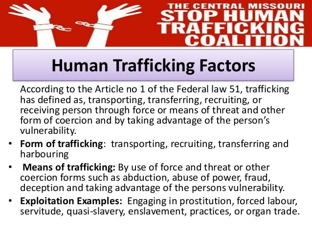 12 Things You Should Know About Human Trafficking