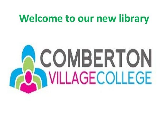 SLA Library Design Awards 2013 - Comberton Village College, Cambridge