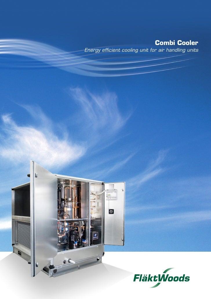 Combi Cooler - Energy efficient cooling unit for air handling units
