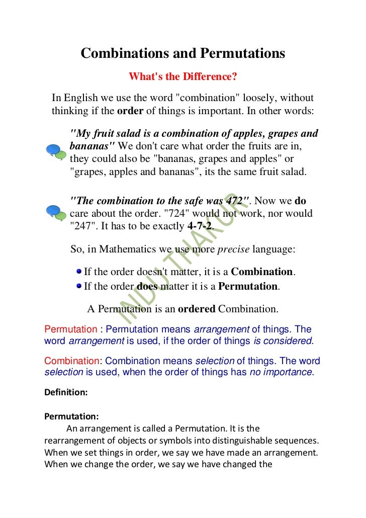 Combinations And Permutations Worksheet Related Keywords – Permutations Worksheet