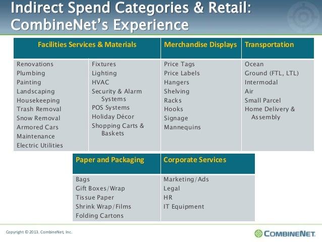New Victories In Retail Indirect Procurement