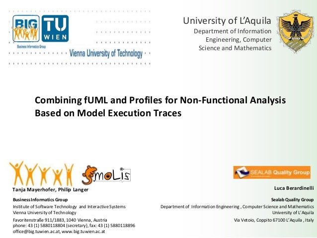 Combining fUML and Profiles for Non-Functional Analysis Based on Model Execution Traces