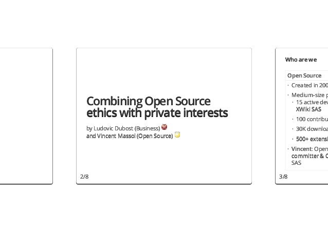 Who are we                                       Open Source                                       · Created in 200       ...