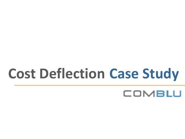 ComBlu Cost Deflection