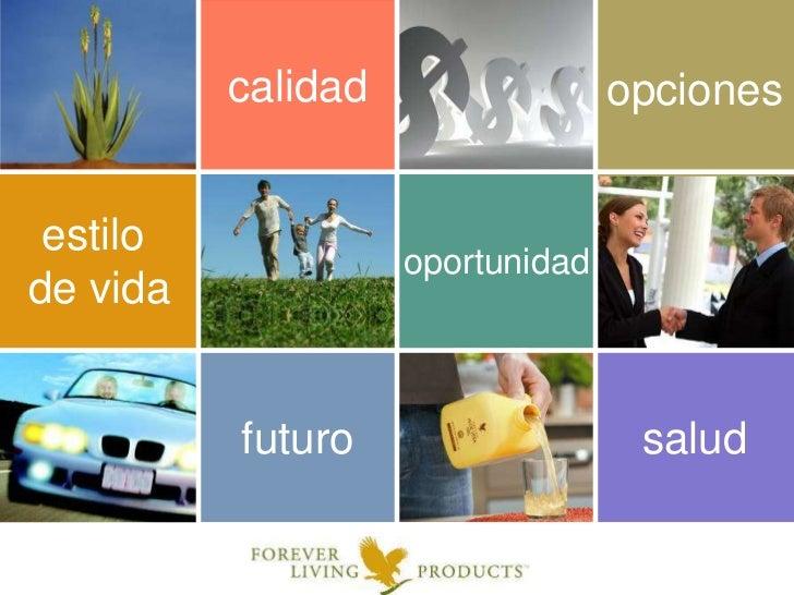 calidad<br />opciones<br />estilo <br />de vida<br />oportunidad<br />salud<br />futuro<br />