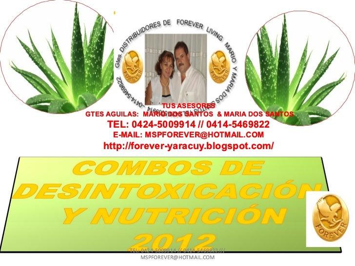 TUS ASESORESGTES AGUILAS: MARIO DOS SANTOS & MARIA DOS SANTOS     TEL: 0424-5009914 // 0414-5469822          0424-        ...