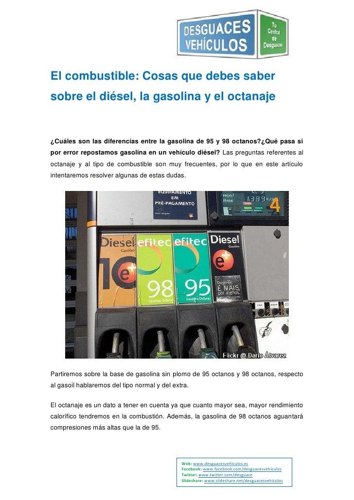 Los gastos de la gasolina por el viaje