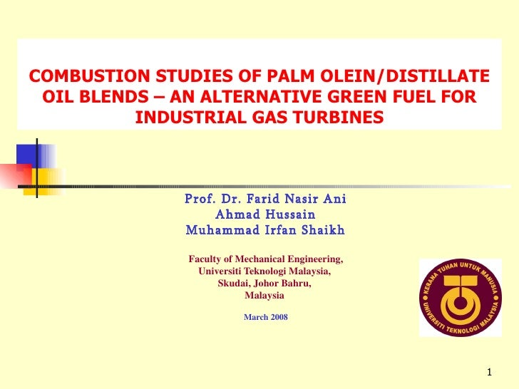 Combustion Studies By Dr. Ahmed
