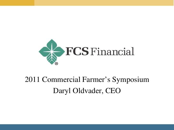 FCS Financial Closing Comments