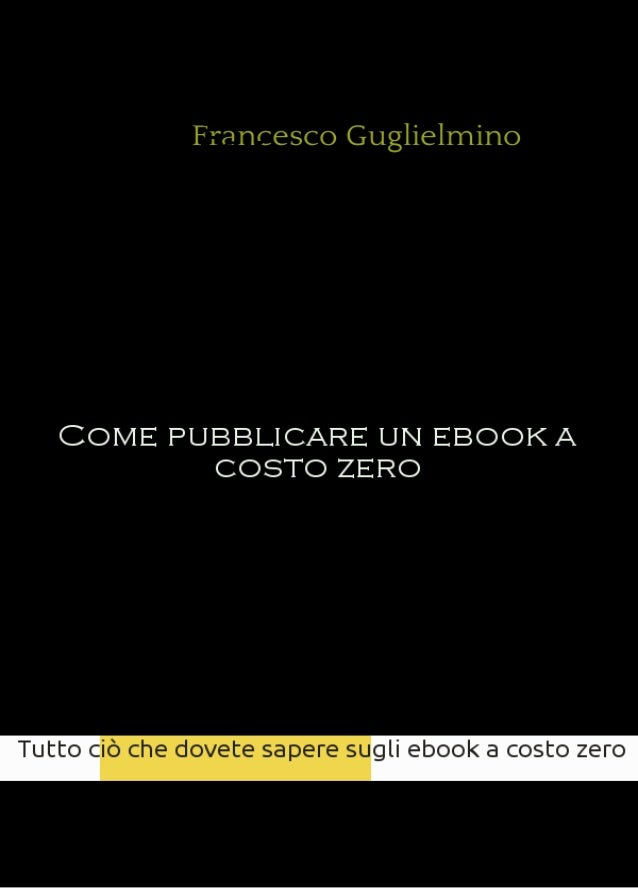 Come pubblicare-un-ebook-a-costo-zero