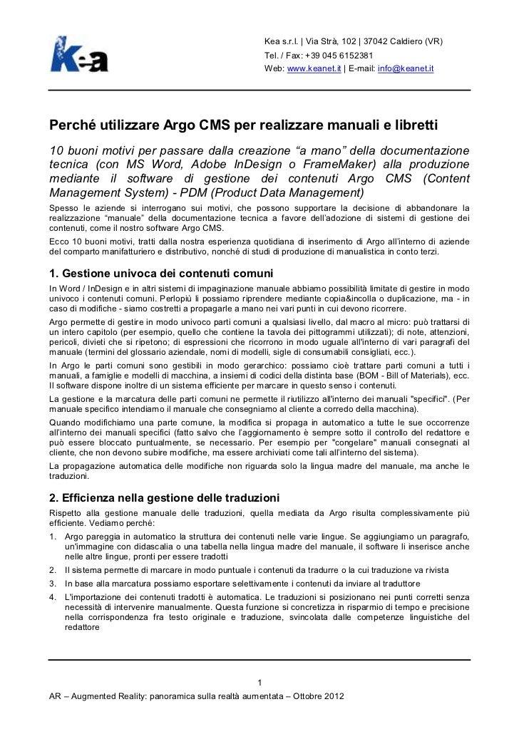 Kea s.r.l. | Via Strà, 102 | 37042 Caldiero (VR)                                                            Tel. / Fax: +3...