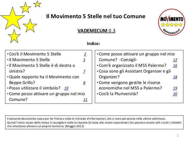 Il Movimento 5 Stelle nel tuo Comune                                                         VADEMECUM 0.3                ...