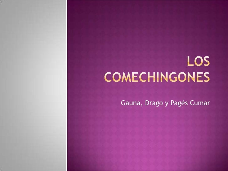 Los Comechingones<br />Gauna, Drago y Pagés Cumar<br />