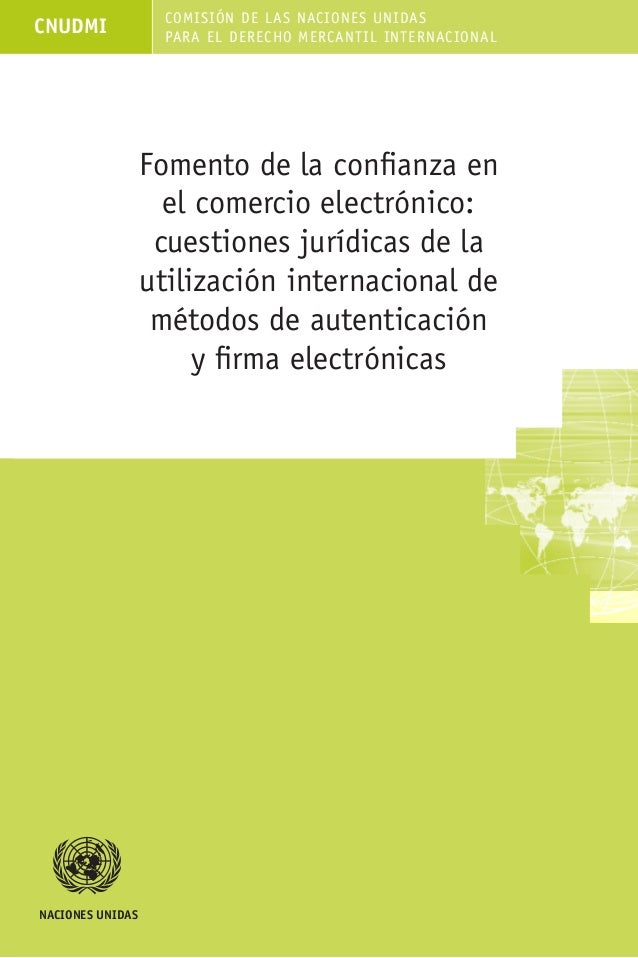 Comelectronico uncitral