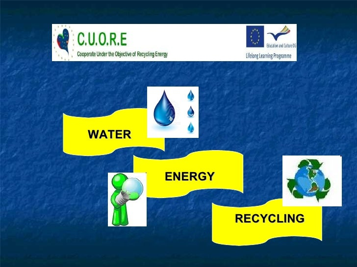 WATER ENERGY RECYCLING