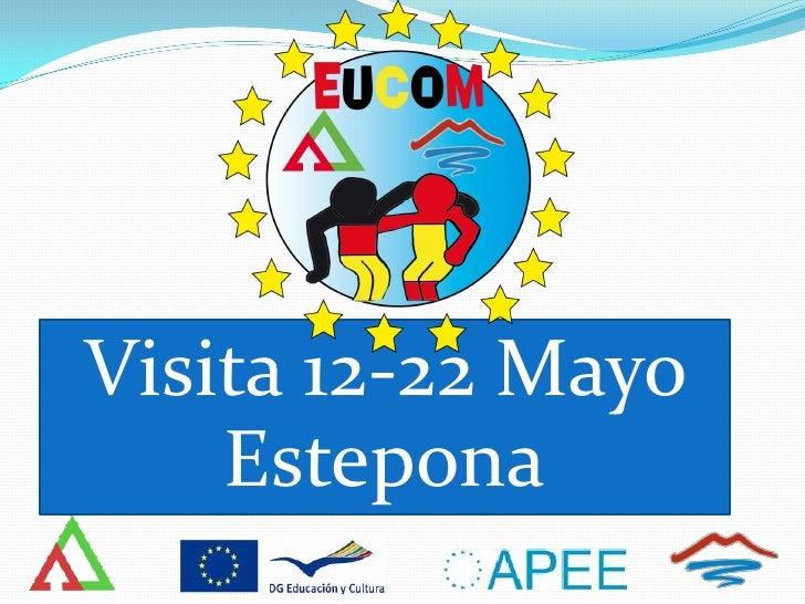 Comenius   Programa visita 12-22 mayo estepona