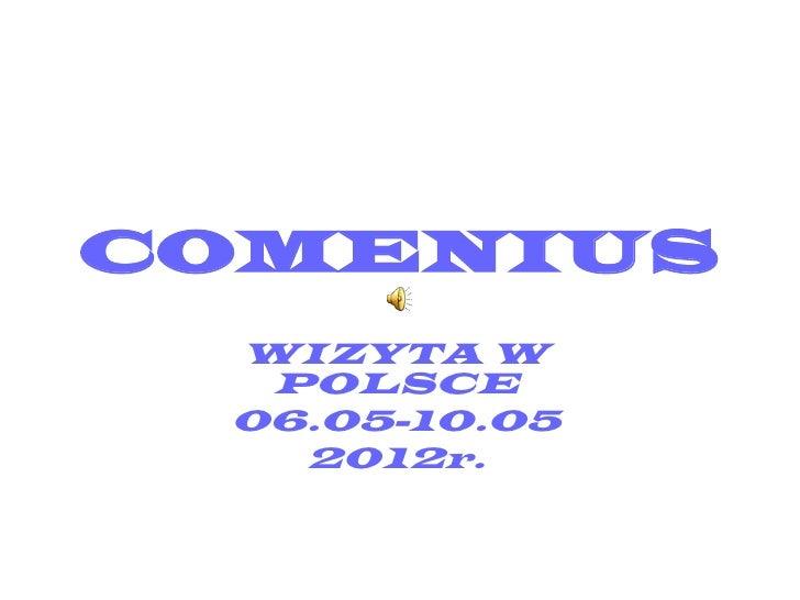 Comenius visit in Poland