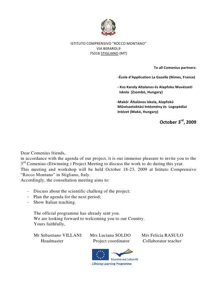Visa Invitation Letter - Birthday invitation letter to teachers