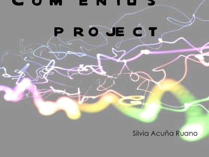 Comenius project Silvia  Acuña   Ruano