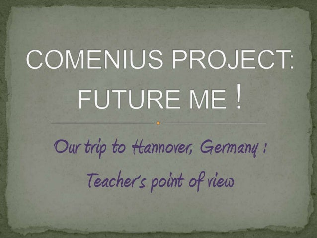 Comenius project Hannover