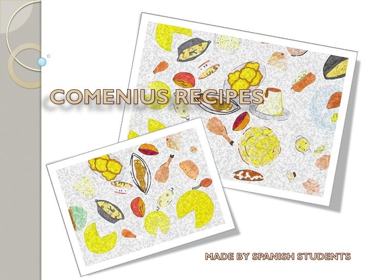 Spanish Comenius Recipe Book