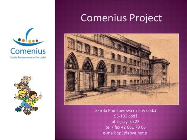Projekt Comenius w sp nr 5