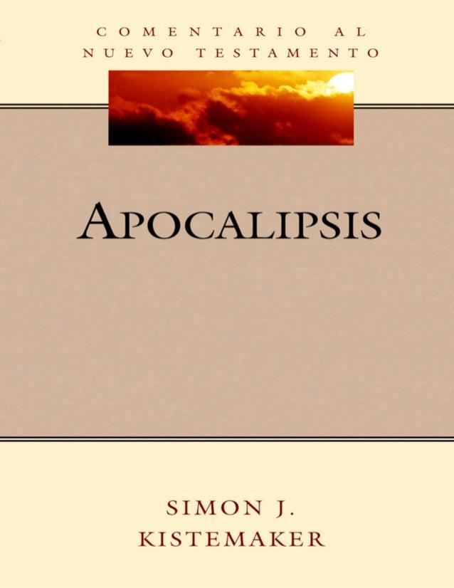 Comentario al nuevo testamento simon j. kistemaker   apocalipsis