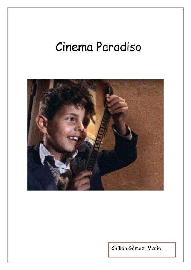 Comentario crítico cinema paradiso