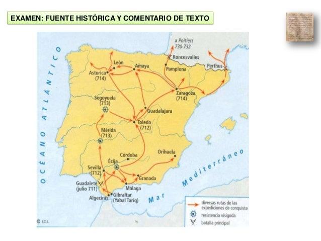 EXAMEN: FUENTE HISTÓRICA Y COMENTARIO DE TEXTO