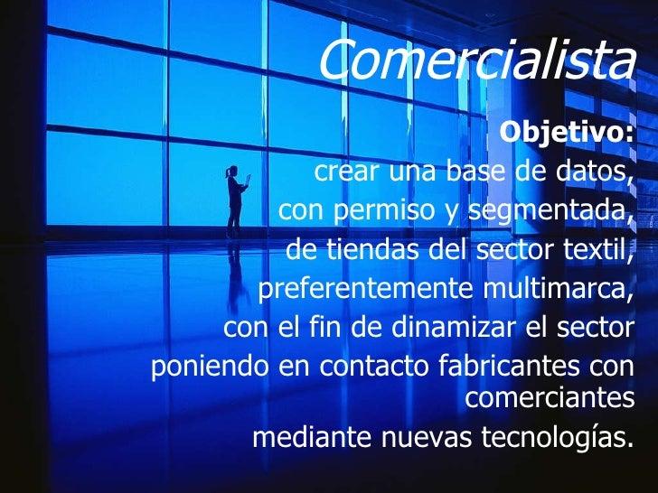 Comercialista 1 proyecto