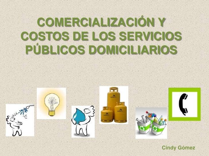 historia de los servicios publicos en colombia: