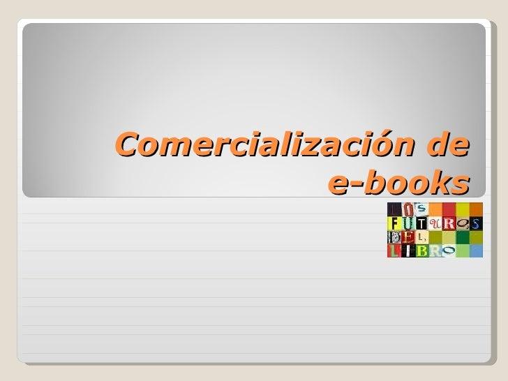 Comercialización de ebook, Joaquín Rodriguez (Director XI Máster Edición de la Universidad de Salamanca)