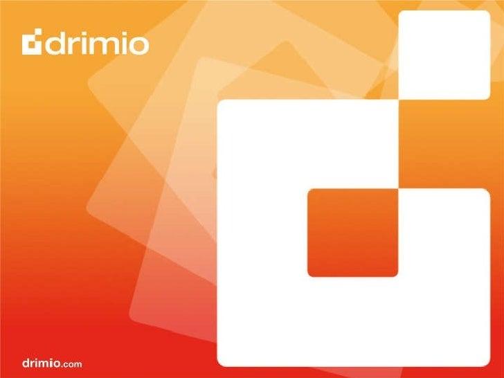Apresentação Comercial W2Pod Drimio