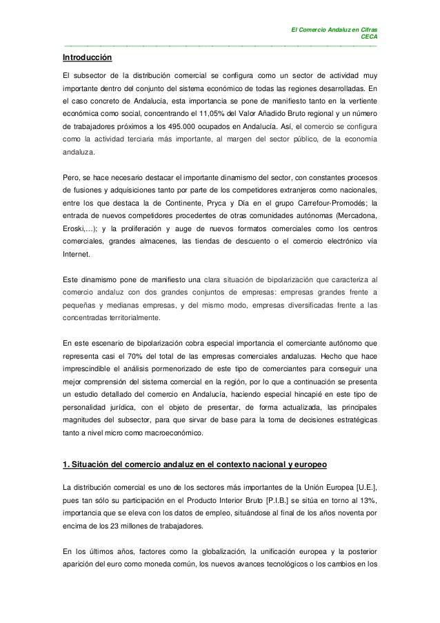 El Comercio Andaluz en Cifras                                                                                            C...