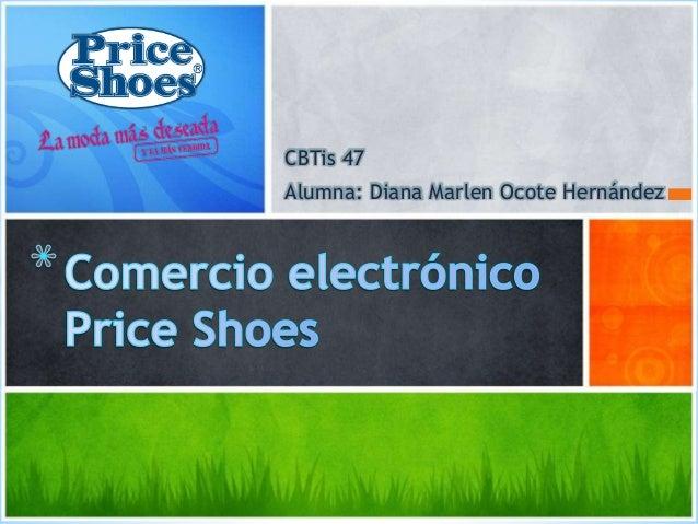 CBTis 47 Alumna: Diana Marlen Ocote Hernández