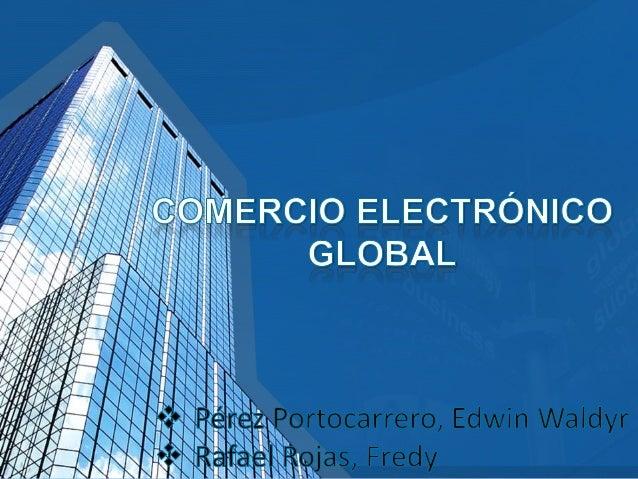 Actividad de intercambio comercial que se realizan a través de Internet. El comercio electrónico es la venta a distancia a...