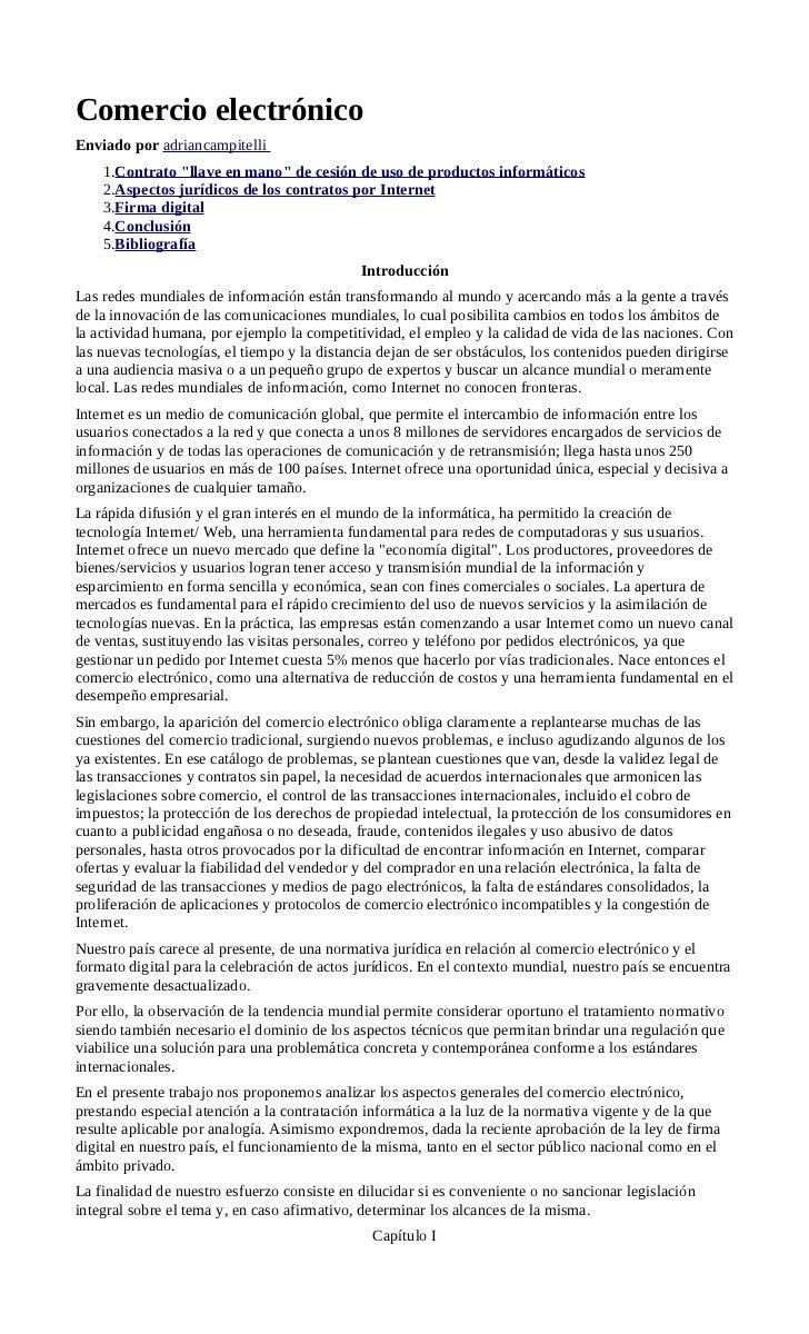 Comercio electrónico monografía1