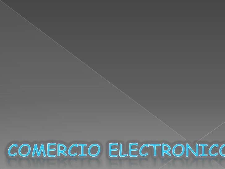 Infraestructura Comercio electronico