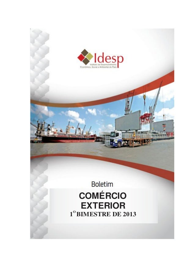 Comercio ext1bim 2013