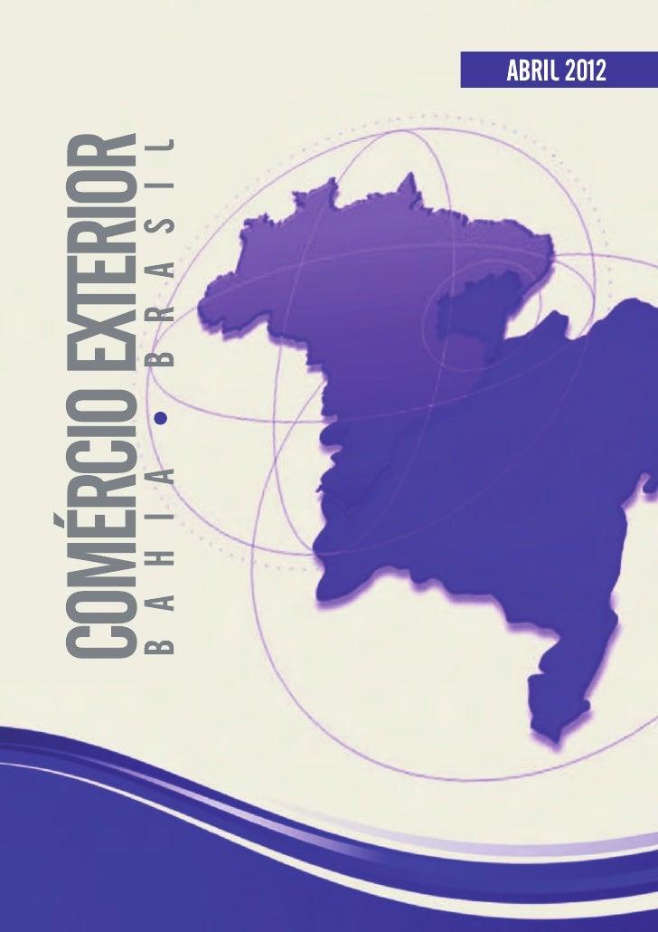 Comercio exterior abr2012